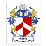Garth Coat of Arms Small Poster
