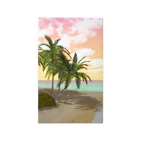 Dreamy Desert Island 3'x5' Area Rug