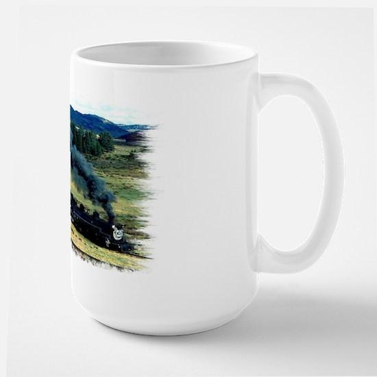 """Mountain Train"" Large Mug"