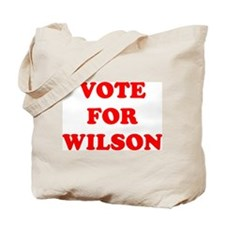 Vote For Wilson Tote Bag