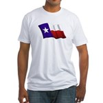 Texas Flag Fitted T-Shirt