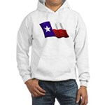 Texas Flag Hooded Sweatshirt
