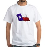 Texas Flag White T-Shirt