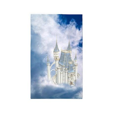 Fairytale Castle 3'x5' Area Rug