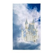 Fairytale Castle 3'x5' Area Rug