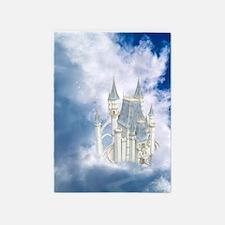 Fairytale Castle 5'x7'Area Rug