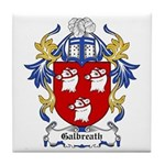 Galbreath Coat of Arms Tile Coaster