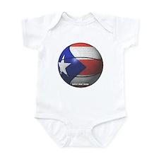 Puerto Rican Basketball Infant Bodysuit