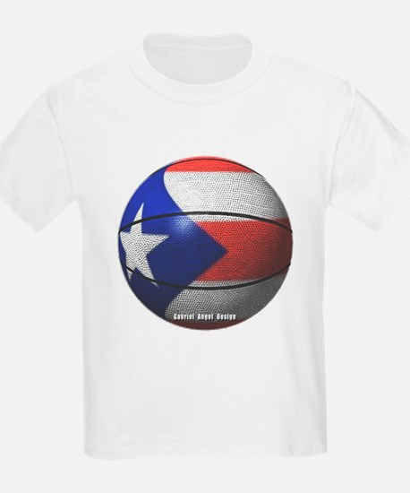 Puerto Rican Basketball T-Shirt
