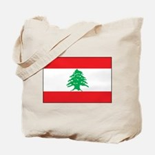 Lebanon - National Flag - Current Tote Bag