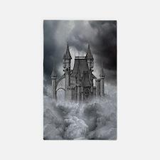Dark Castle 3'x5' Area Rug