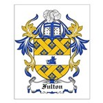 Fulton Coat of Arms Small Poster