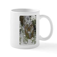 Tiger In The Snow Mug
