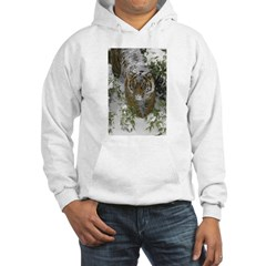 Tiger In The Snow Hoodie