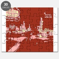 Downtown Las Vegas Pop Art Puzzle
