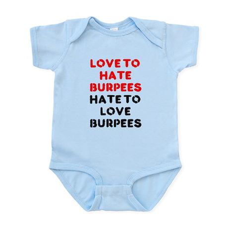 Love to Hate Em Infant Bodysuit