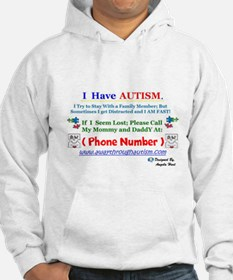 Lost And Autistic? Personalized Hoodie