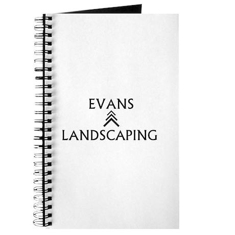 Evans Landscaping Notebook/Journal