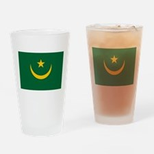 Mauritania - National Flag - Current Drinking Glas