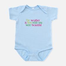 The Weather Infant Bodysuit