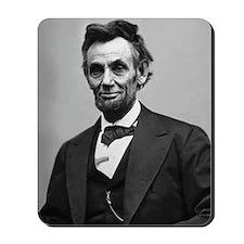 Abraham Lincoln Mousepad