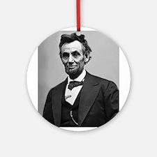 Abraham Lincoln Ornament (Round)
