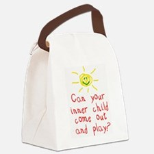 Inner Child Canvas Lunch Bag