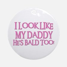 BALD TOO! Ornament (Round)