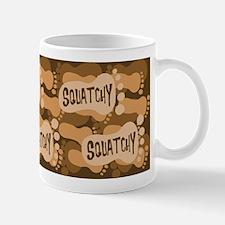 Squatchy footprint Mug