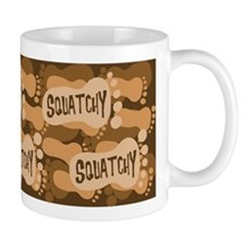 Squatchy footprint Mug