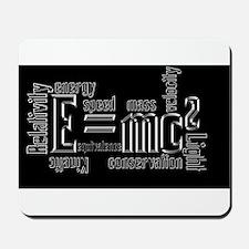 Science Mass Equivalence E=mc2 Einstein Design Mou