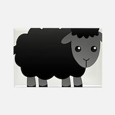 black sheep Rectangle Magnet (10 pack)