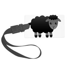 black sheep Luggage Tag