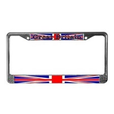 Great Britain British Flag License Plate Frame