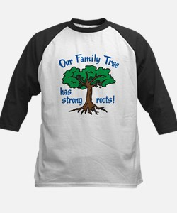 Our Family Tree Kids Baseball Jersey