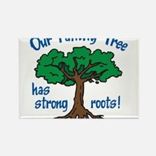 Our Family Tree Rectangle Magnet
