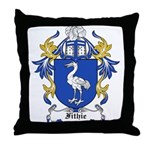 Fithie Coat of Arms Throw Pillow
