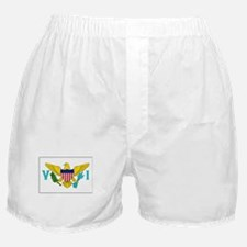The United States Virgin Islands Flag Picture Boxe
