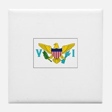 The United States Virgin Islands Flag Picture Tile