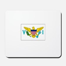 The United States Virgin Islands Flag Picture Mous