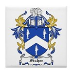 Fisher Coat of Arms Tile Coaster
