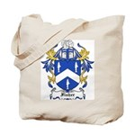 Fisher Coat of Arms Tote Bag