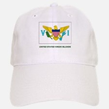 The United States Virgin Islands Flag Stuff Baseball Baseball Cap