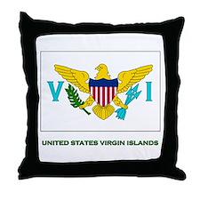 The United States Virgin Islands Flag Stuff Throw