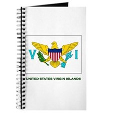 The United States Virgin Islands Flag Stuff Journa