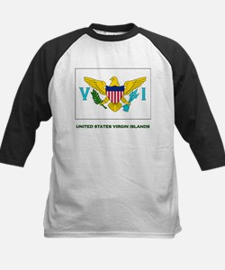 The United States Virgin Islands Flag Stuff Tee
