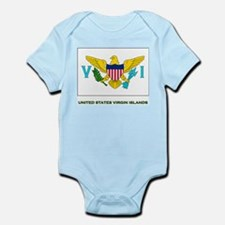 The United States Virgin Islands Flag Stuff Infant