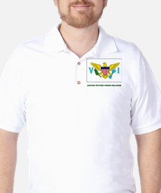 The United States Virgin Islands Flag Stuff T-Shirt