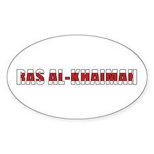Ras al-Khaimah Oval Decal