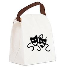 theatre masks Canvas Lunch Bag